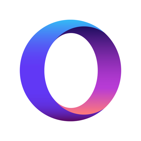 Opera Touch web browser (iOS) Logo