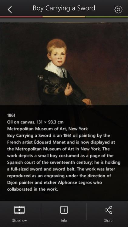 Manet Art Gallery screenshot-4
