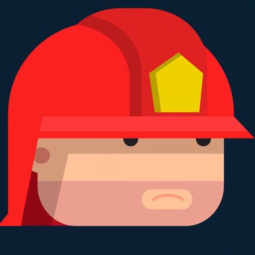 Flying Hero: City on fire
