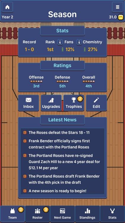 Hoop League Tactics screenshot-5