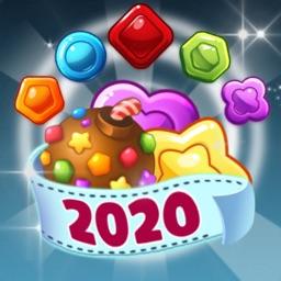 Candy Village : Match 3 puzzle