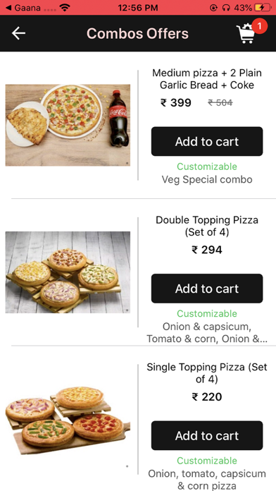 Roms Pizza screenshot 2
