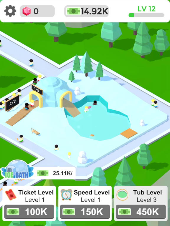 Ipad Screen Shot Idle Hot Springs 0