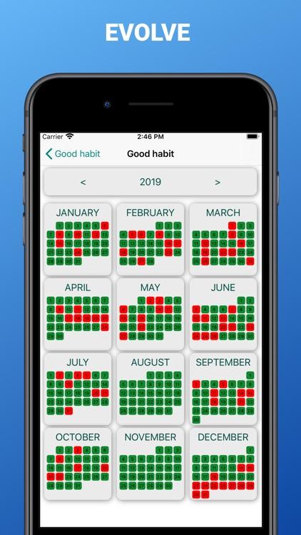 Cross out calendars