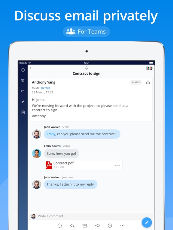 Screenshot #3 for Spark - Email App by Readdle