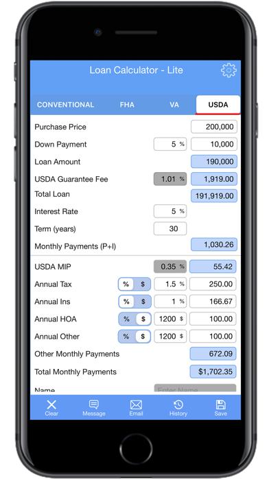 Loan Calculator | PMI- LiteScreenshot of 5