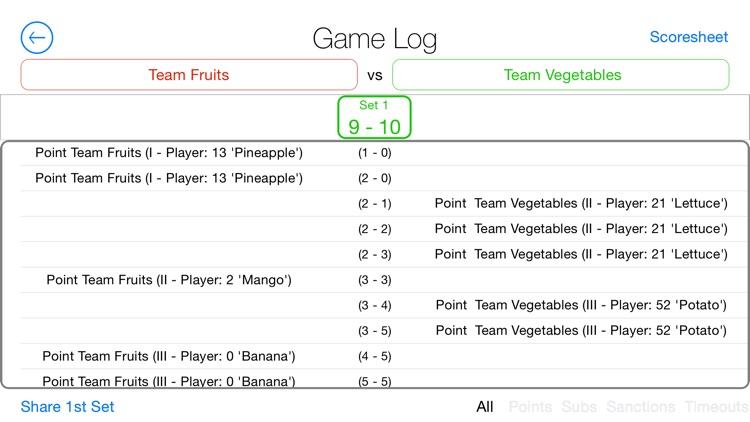 A Volleyball Scoreboard screenshot-3