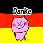 Plakate mit lustigen deutschen