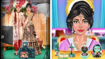 Screenshot of Stylist Indian Fashion Game App