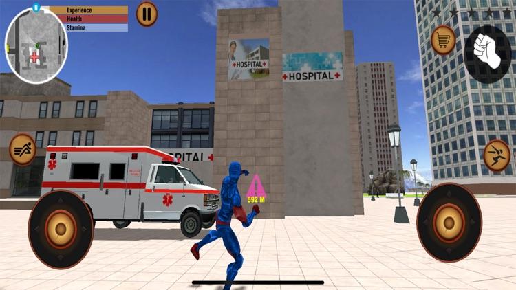 Flying Spider Stickman hero screenshot-3