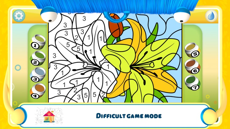 Color by Numbers - Flowers screenshot-3