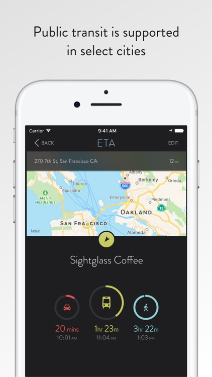 ETA - Live Traffic Alert