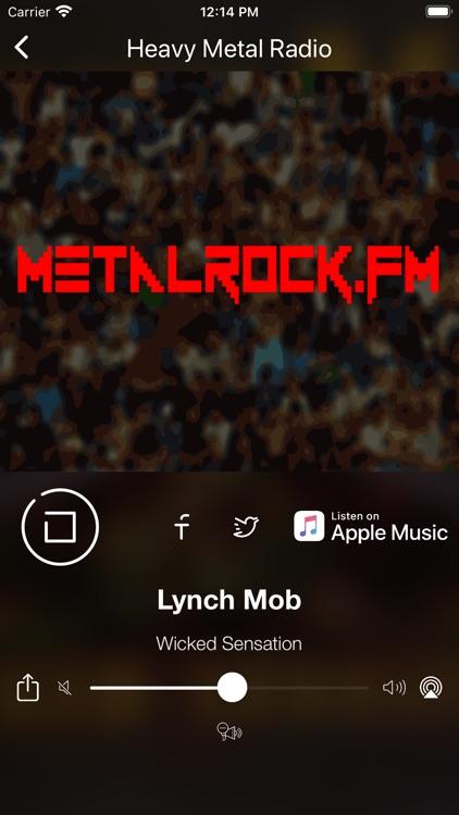 Heavy Metal Music & Hard Rock screenshot-3