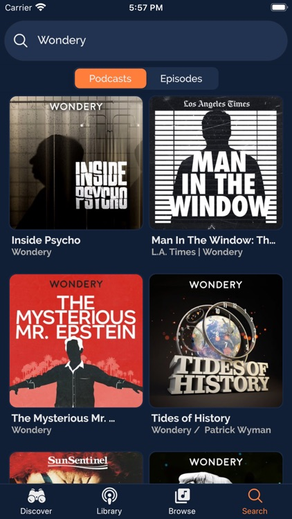 Podalong Podcast Player screenshot-5