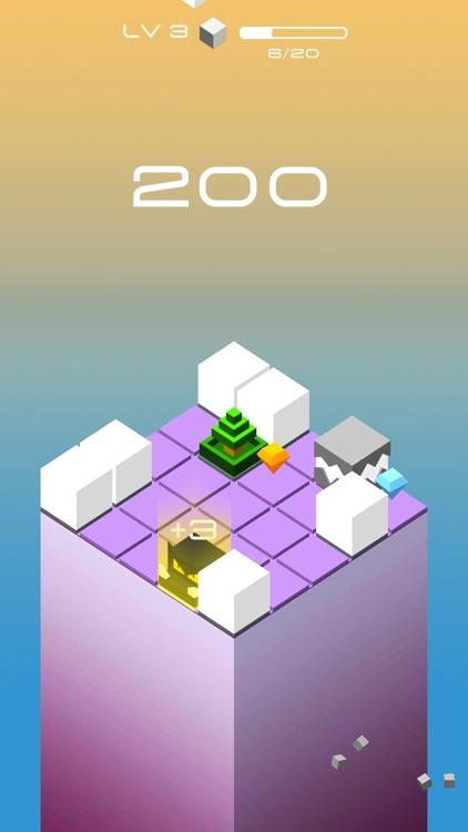 Falling Cube Drop 3D