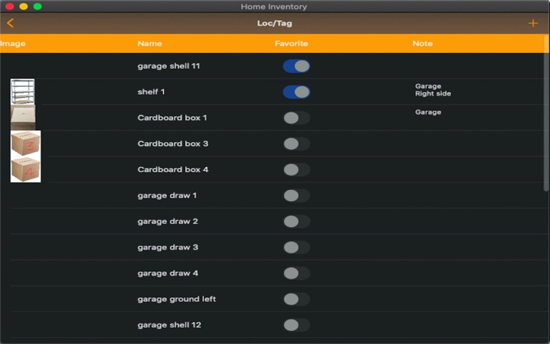 Easy Home Inventory :) скриншот программы 3