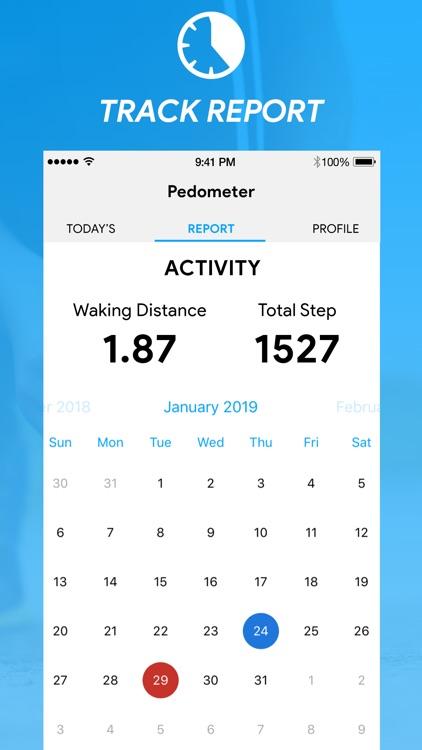Pacer Pedometer - Step Tracker screenshot-5
