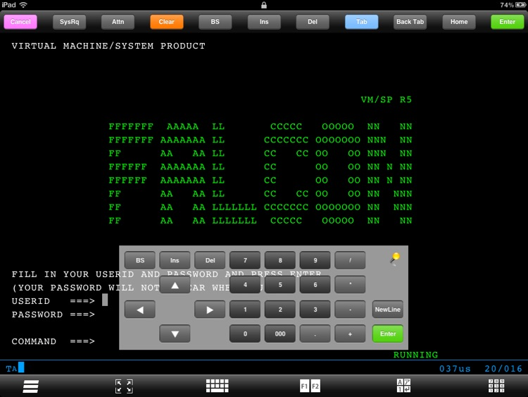 FALCON 3270 for iPad screenshot-3