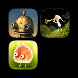 Ícone do app Machinarium + Samorost 3 + Botanicula