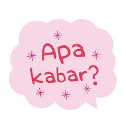 Bubble talk for Indonesian