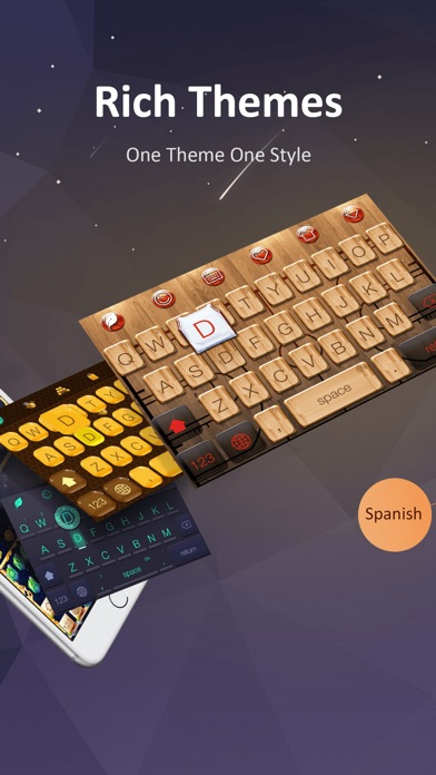 GO Keyboard-Emojis&Cool Themes Screenshot