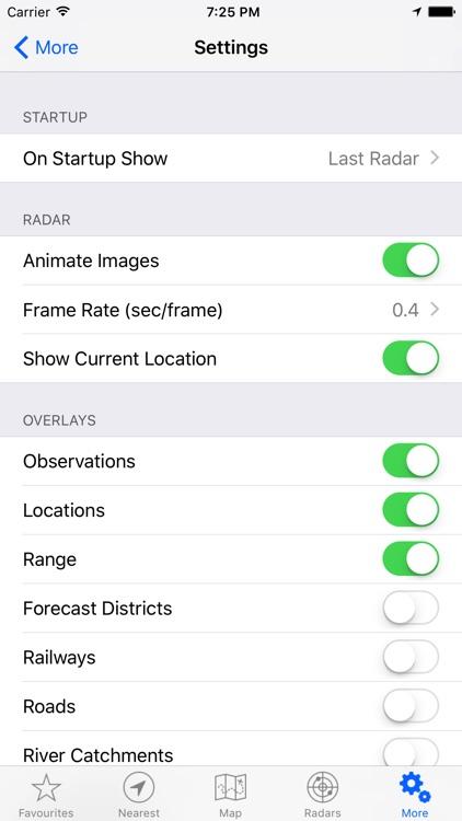 Rain Radar+ AU - BOM Radar screenshot-3