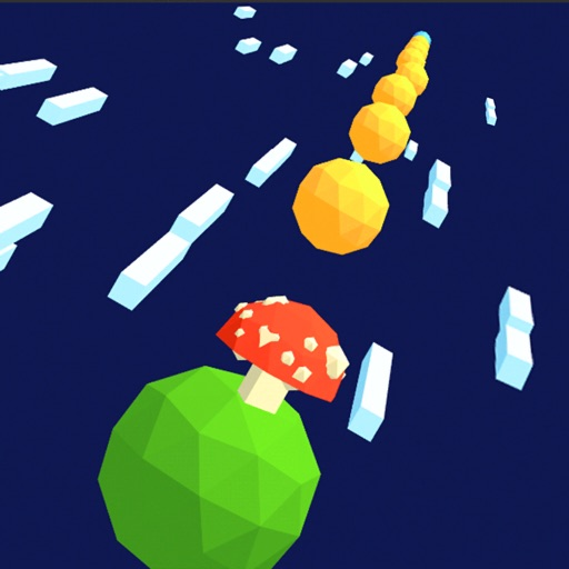 Jump Road 3D: Color Balls Run iOS App