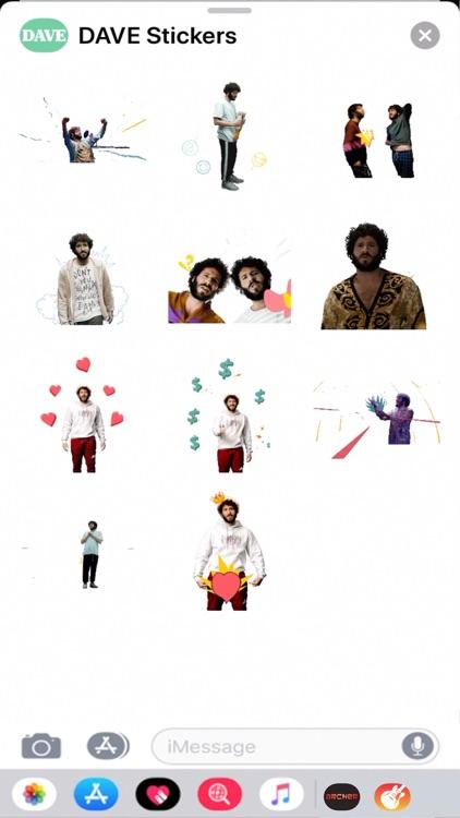 DAVE Stickers screenshot-3
