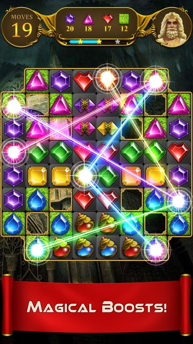 Jewel Crush - Blast Diamond screenshot three