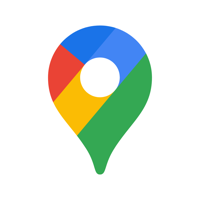 Google Maps - Transit & Food - Google LLC Cover Art