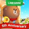 LINE ブラウンファーム iPhone / iPad