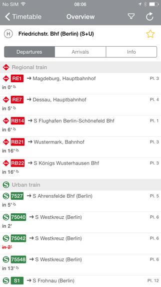 BVG Fahrinfo Berlin screenshot four