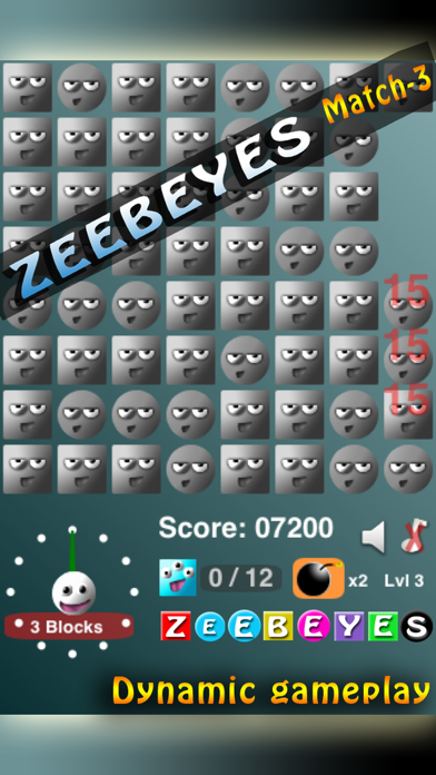ZeebEyes Match-3 screenshot three