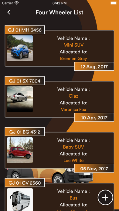 Corporate Vehicle Manager screenshot #5