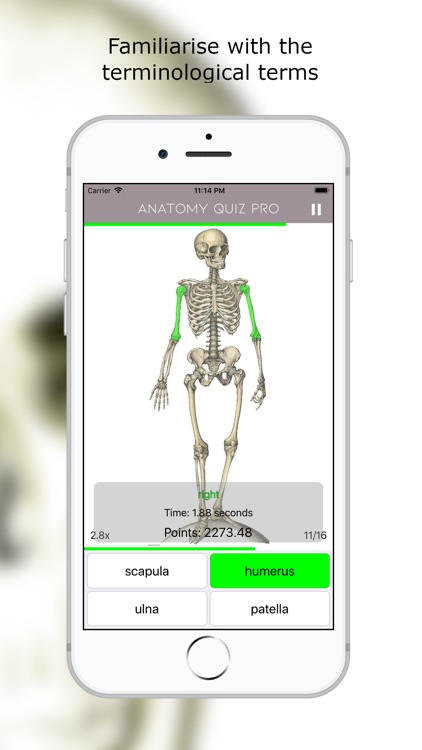 Anatomy Quiz Premium screenshot-0
