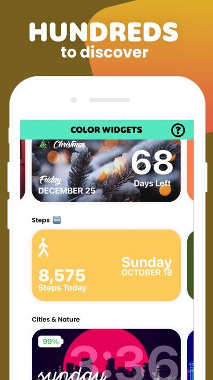 Color Widgets screenshot-4