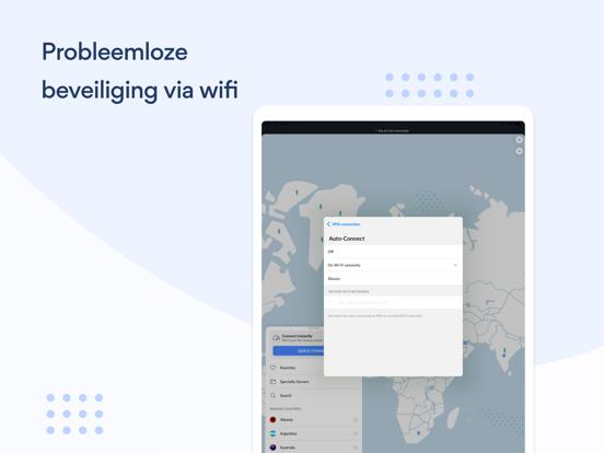 NordVPN: VPN snel & onbeperkt iPad app afbeelding 4