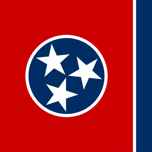 Tennessee state - USA stickers