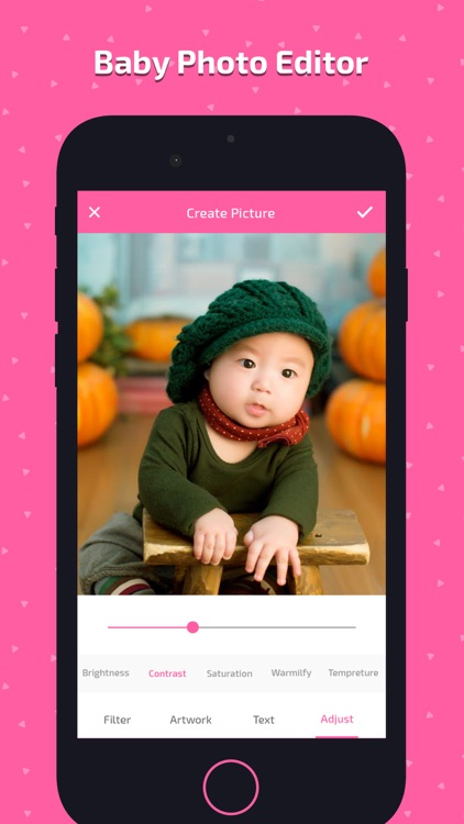 Baby Photo Art - Monthly Pics screenshot-4