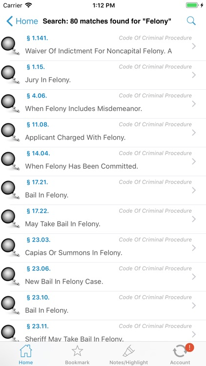 CA Penal Code (California) screenshot-7