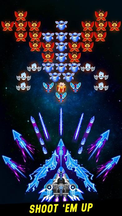 スペース射手: レトロ シューティングゲーム screenshot1
