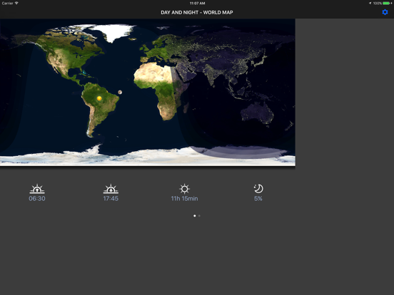 Day & Night – World Map | App Price Drops Day And Night World Map on