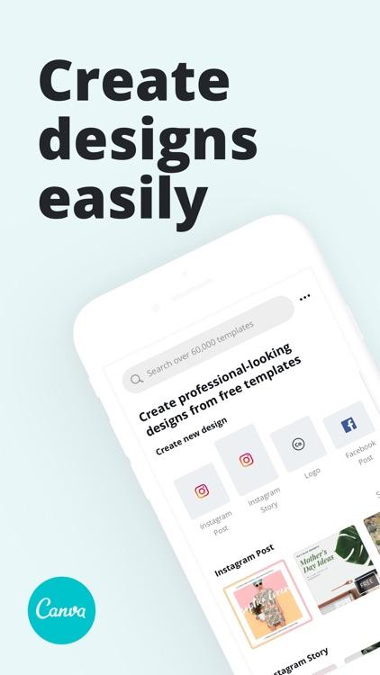 Canva: Graphic Design & Video screenshot-0