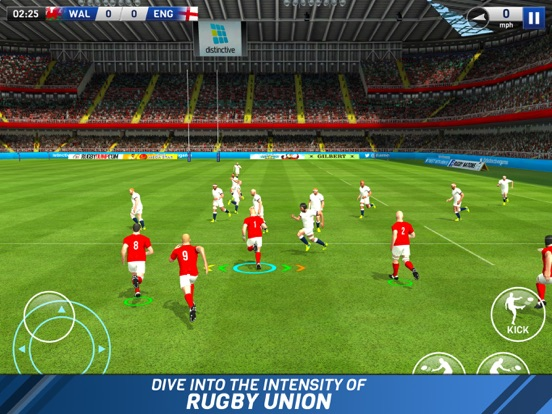 Rugby Nations 18 на iPad