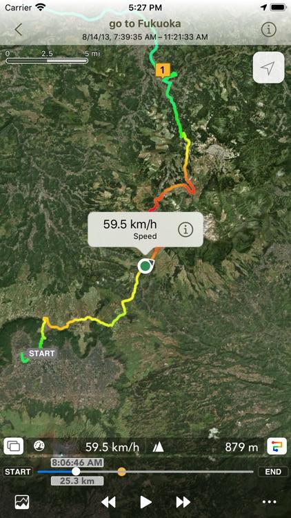 Ryotei - GPS Tracker screenshot-0