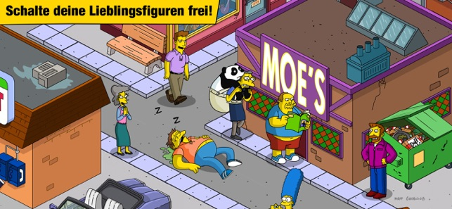 Die Simpsons™: Springfield Screenshot