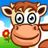 子供のための動物のパズル 農場 Animal Puzzle