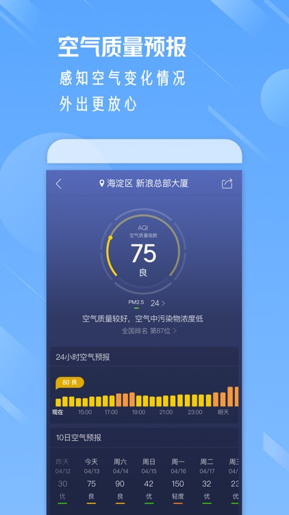 天气通-15日空气质量天气预报 screenshot-4