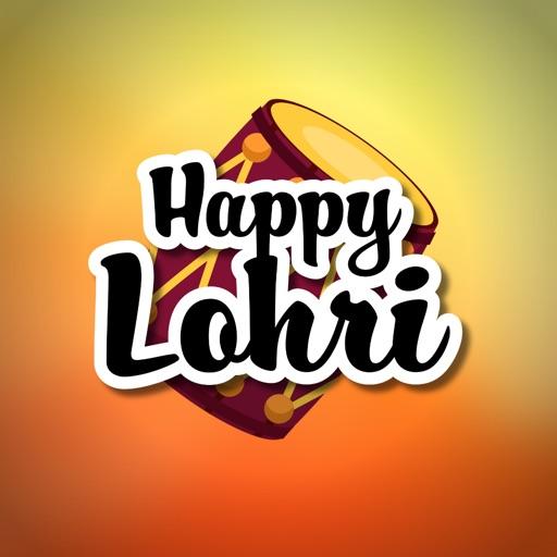 Happy Lohri Stickers