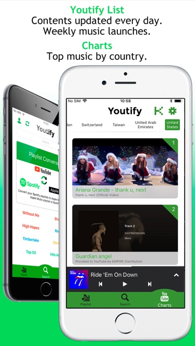 Screenshot for Youtify + for Spotify Premium in South Africa App Store